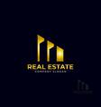 logo template real estate apartment condo house