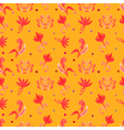 Orange Retro seamless pattern vector image