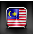 original and simple Malaysia flag isolated vector image