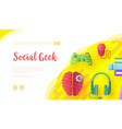 video game background with joypad headphones vector image vector image