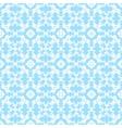 Blue decorative pattern vector image